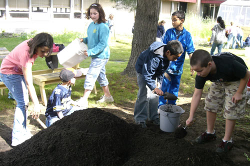 Curriculum-Driven Gardens: Shaker Road Elementary School, Colonie, NY